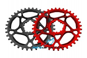 corone-SRAM-Truvativ-AbsoluteBlack-integrata-rossa-nera-MTB-XX1-28-30-32-34-denti-Bike-Direction