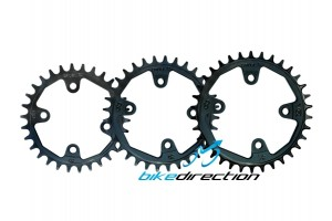 Corone-tonde-SRAM-bcd76-CRUEL-VOR-30-32-34-MTB-chainrings-Bike-Direction