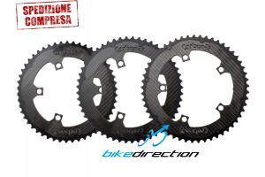 Corone-X-CarboRing-CARBON-TI-50-compact-52-53-bcd110-5-bracci-arms-Bike-Direction