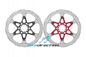 CORSA-ESTREMA-203-dischi-disco-nero-rosso-colorati-Hope-180-160-Bike-Direction