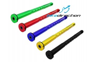 Cruel-components-asse-perno-BOOST-Rock-Shox- rosso-verde-gold-blu-Bike-Direction