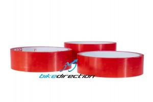 FRM-RED-CARPET-23-26-31-mm-nastro-latticizzazione-tape-tubeless-rosso-MTB-Bike-Direction