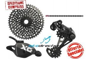 gruppo-SRAM-EAGLE-X01-nero-black-12-speed-mtb-10-50-Bike-Direction