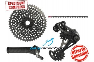 gruppo-SRAM-EAGLE-X01-nero-black-12-speed-mtb-10-50-OFFERTA-Rotante-Bike-Direction
