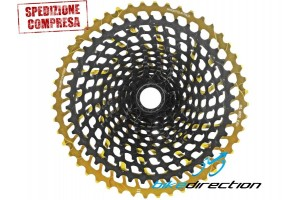 Leonardi-Factory-cassetta-pignoni-gold-oro-12V-sram-950-XL-Bike-Direction