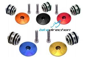 Leonardi-Factory-tappo-serie-sterzo-colorato-blu-arancione-rosso-nero-expander-forcella-light-Bike-Direction