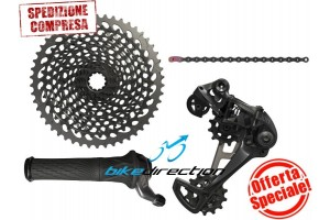 offerta-trasmissione-gruppogrip-shift-SRAM-EAGLE-XX1-nero-black-12-speed-mtb-10-50-Bike-Direction