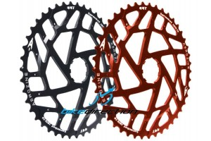 PIGNONE-44-45-denti-nero-rosso-Aerozine-ARI-Woolftooth-MTB-XX1-X01-Bike-Direction