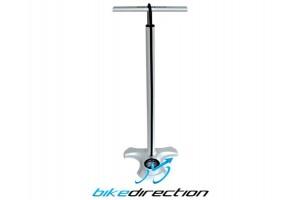 Pompa-da-terra-gonfiaggio-pneumatici-AirBone-con-manometro-professionale-bici-Strada-MTB-Bike-Direction