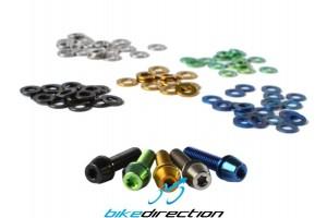 Rondelle-Spessori-washers-Titanio-blu-nero-gold-oro-verde-M6-componenti-bici-Bike-Direction