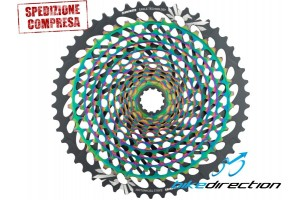 SRAM-RAINBOW-cassetta-pignoni-12V-AXS-XX1-EAGLE-10-50-Bike-Direction