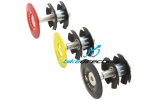 tappo-serie-sterzo-attacco-manubrio-ragnetto-nero-rosso-bianco-aerozine-ergal-Bike-Direction