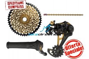 upgrade-kit-GOLD-XX1-sram-EAGLE-Grip-shift-rotante-trigger-oro-offerta-Bike-Direction