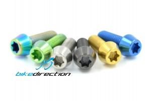 viti-titanio-colorate-5x10-6x10-bici-gold-verde-Bike-Direction