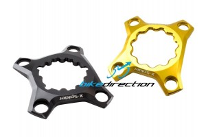 X-Spider-CARBON-TI-SRAM-ROTOR-RACE-FACE-HOLLOWGRAM-THM-bcd76-Bike-Direction