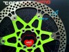 CORSA-ESTREMA-dischi-fluo-verde-cannondale-green-rotors-160-180-Bike-Direction